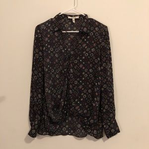 Derek Lam 10 Crosby Floral Top